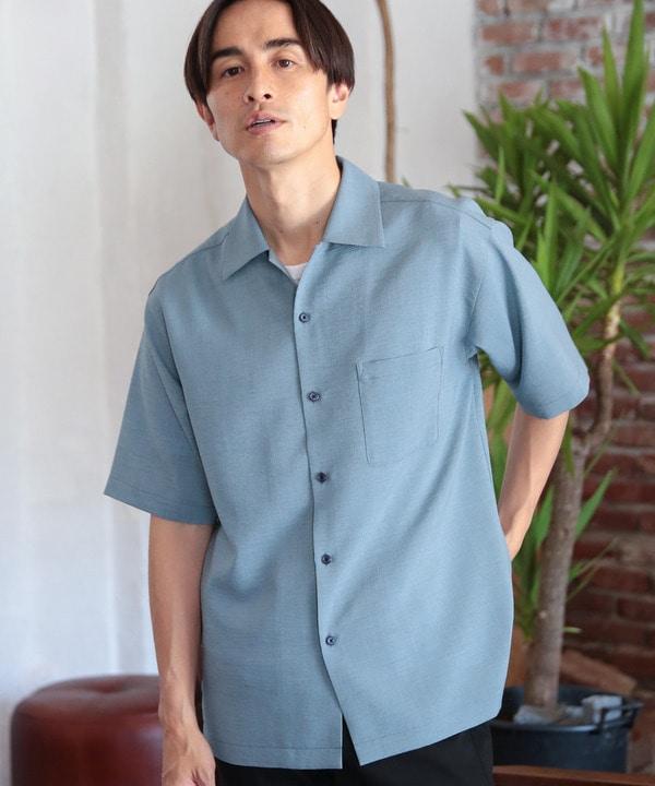ドライタッチオープンカラーシャツ