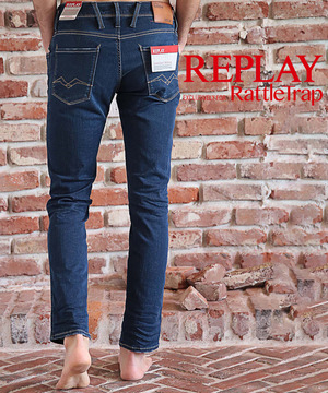 REPLAY×RATTLE TRAP 別注デニム Anbass Hyperflex Laserblast