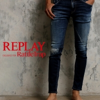 REPLAY EXCLUSIVELY FOR RattleTrap 入荷しました!
