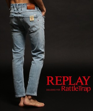 REPLAY×RATTLE TRAP 【AGED 20 YEARS】 ANBASS