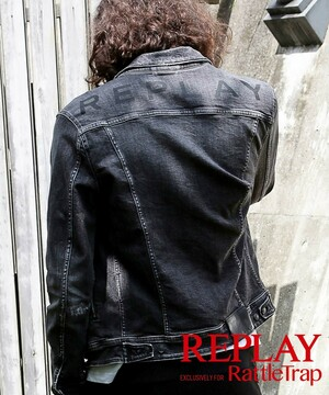 REPLAY×RATTLE TRAP 別注Gジャン Existing Rattle Trap style