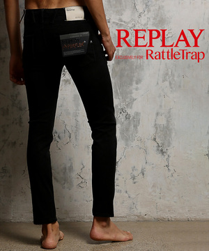REPLAY×RATTLE TRAP 別注デニム Anbass Hyperflex+